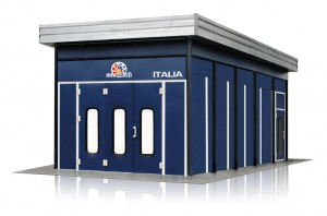 Accudraft Italia Outdoor Paint Booth